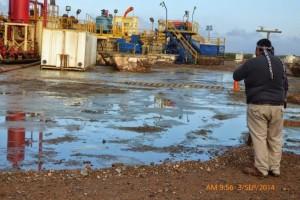 impacto extractivista - Campo Maripe en baja