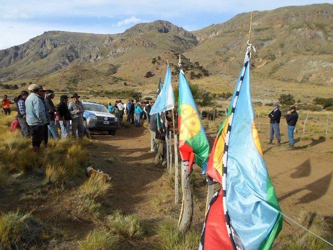 Lucha mapuche en el sur
