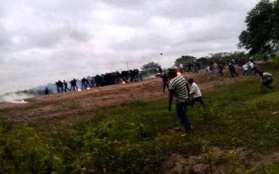 Represión en Chaco