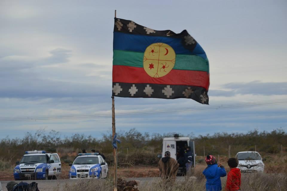 Una balanza judicial Mapuche